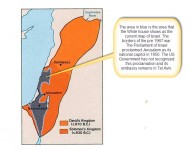 White House does not recognize Israel's Biblical Borders