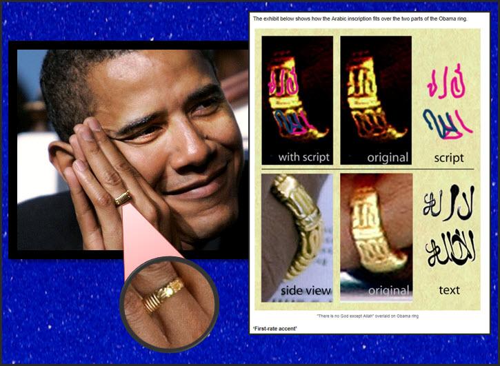 Obamas Ring